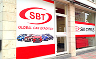 SBT Cyprus office the front entrance